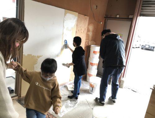 塗り壁DIY体験!